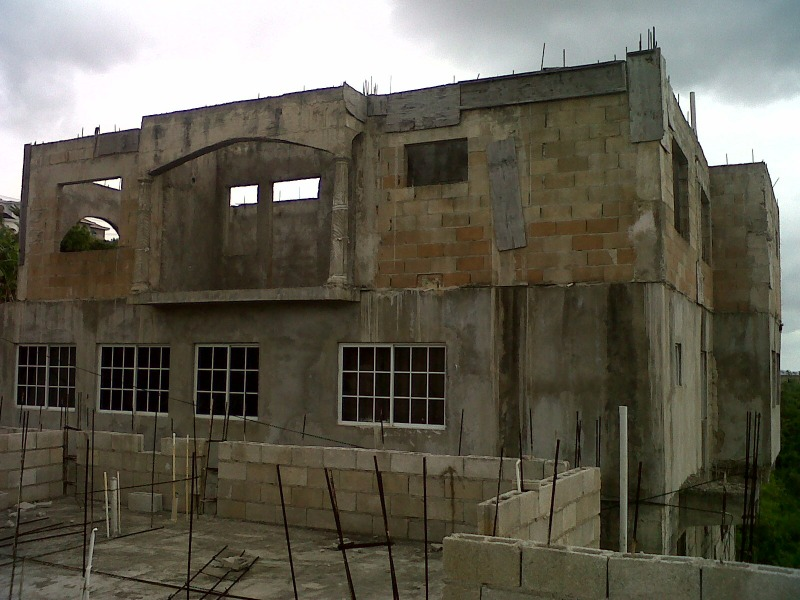 Unfinished 3 Storey House In Foreclosure For Sale In