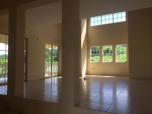 interior of unfinished house for sale greenside trelawny ...