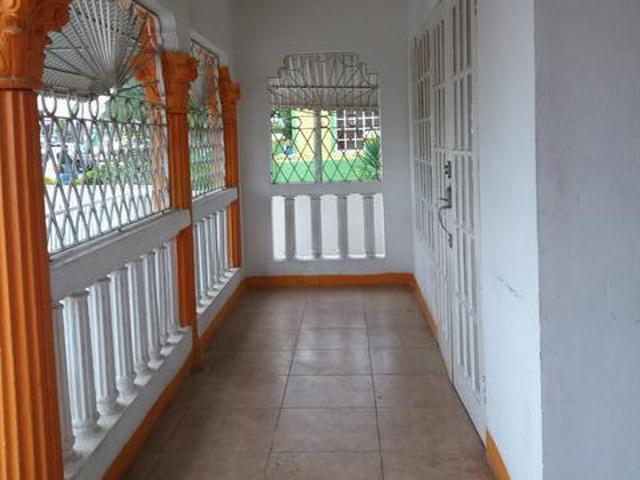 2 Storey House In Greater Portmore With 3 Beds 3 Baths Living Dining And Entertainment Areas